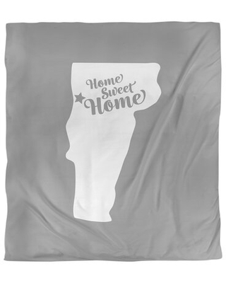 Home Sweet Burlington Single Reversible Duvet Cover East Urban Home Size: Twin Duvet Cover, Color: Gray, Fabric: Brushed Polyester