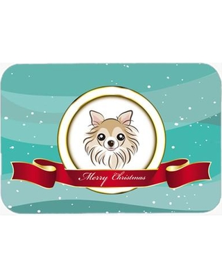 The Holiday Aisle Chihuahua Merry Christmas Glass Cutting Board THLA3834