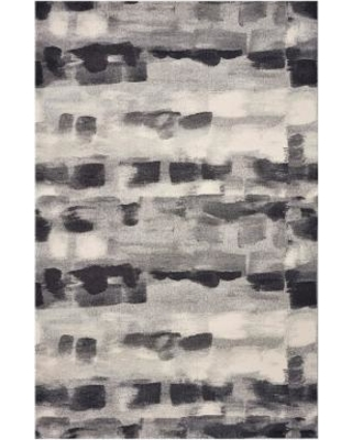 KAS Rugs Illusions Monochromatic Abstract Rug, Grey, 5X7.5 Ft