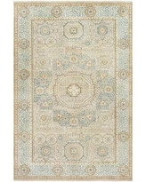 New Deal For Courtney Hand Knotted Wool Cream Area Rug Surya Rug Size Rectangle 2 X 3