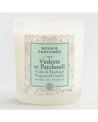 Violet & Patchouli Bougie Parfumee Scented Candle by World Market