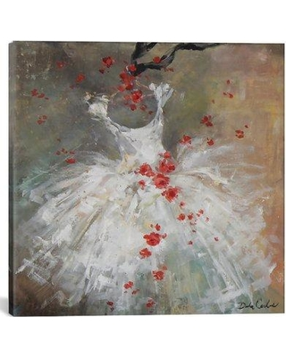 "Ophelia & Co. 'Rouge I' Painting Print on Wrapped Canvas OPCO2846 Size: 18"" H x 18"" W x 0.75"" D"