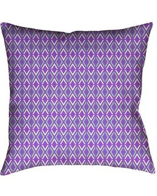 New Bargains On Latitude Run Avicia Indoor Outdoor Throw Pillow X112520781 Size 16 X 16 Color Purple Green