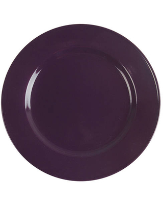 JCPenney Chateau Purple Dinner Plate