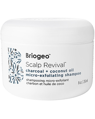 Briogeo Scalp Revival Charcoal + Coconut Oil Micro-Exfoliating Shampoo in Beauty: NA.