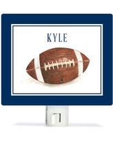 Oopsy Daisy Personalized Sports and Games Football Canvas Night Light NB59990