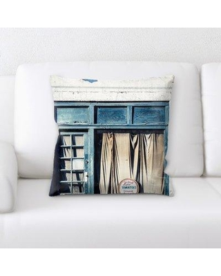 Latitude Run Sumner Old and Abandoned Throw Pillow BF135731