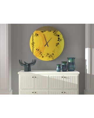 Amazing Deal On East Urban Home Oversized Bondi Wall Clock Metal In Gray Size Small Wayfair C734737696d84c328f95d933a04b6757
