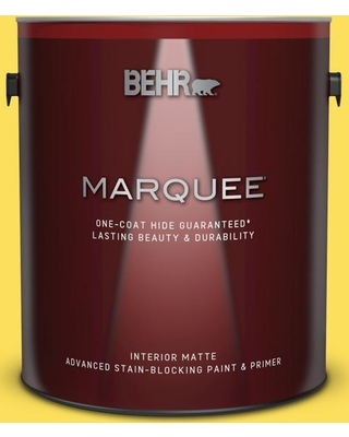 New Deals On Behr Marquee 1 Gal 380b 5 Neon Light Matte Interior Paint And Primer In One