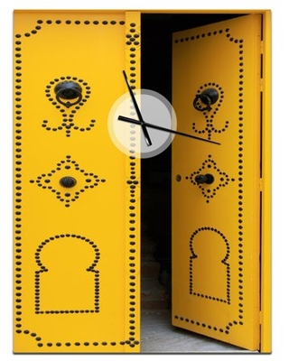 Designart 'Children'S Pattern' Modern wall clock