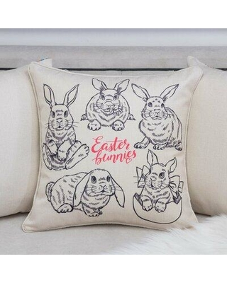The Holiday Aisle Searle Easter Throw Pillow W000474155