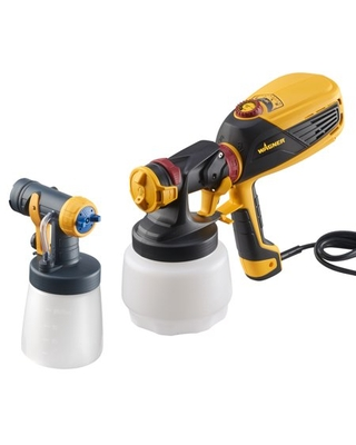 Wagner FLEXIO 590 Paint Sprayer for Indoor and Outdoor Projects