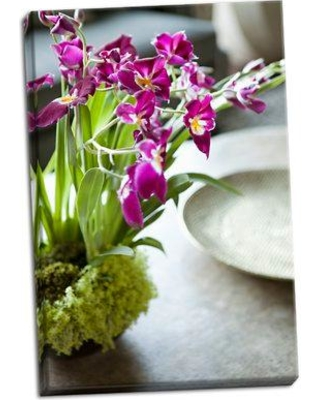 August Grove 'Orchid III' Photographic Print on Wrapped Canvas BF051405