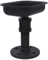 Allied Brass Pipeline Collection Vanity Top Soap Dish in Matte Black
