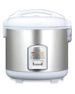 Oyama 7-Cup Healthy Rice Cooker And Steamer Stainless Steel