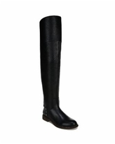 Franco Sarto Haleen Wide Calf Over-the-Knee Boots - Black Leather