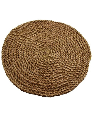 Thirstystone Coiled Jute Rope Trivet, Brown
