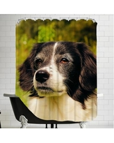 East Urban Home Lovely Dog Pet Animal Shower Curtain ESRB5979