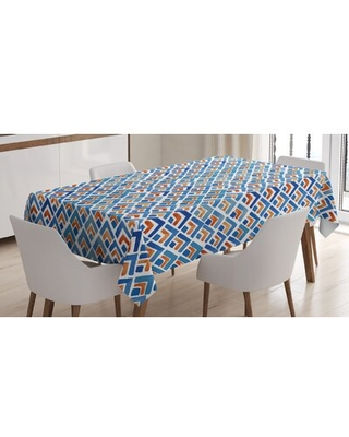 """Japanese Tablecloth East Urban Home Size: 90"""" x 60"""""""