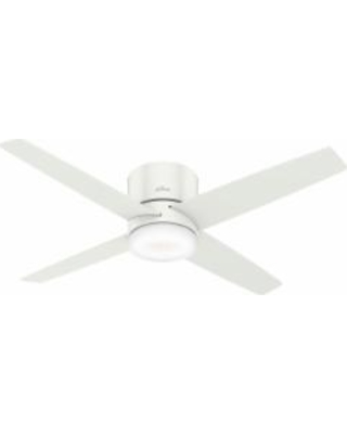 Hunter Fan Advocate Low Profile With Led Light 54 Inch 54 Inch Ceiling Fan with Light Kit - 59371
