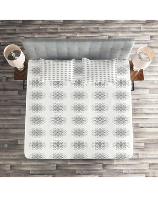 Botany Inspired Coverlet Set East Urban Home Size: Queen Bedspread + 2 Shams