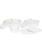CorningWare French White Casserole Set (7-Piece)