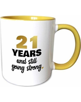 The Party Aisle 21 Years Still Going Strong 21st Wedding Anniversary Gift Coffee Mug W001264388  sc 1 st  Better Homes and Gardens & New Deal Alert: The Party Aisle 21 Years Still Going Strong 21st ...
