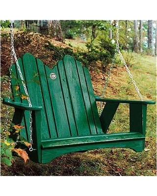 Uwharrie Chair Original Porch Swing 1052 Color: B.T. Gold Wash
