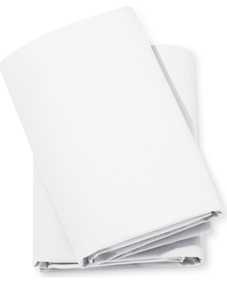 Fitted Crib Sheets Solid 2pk - Cloud Island White