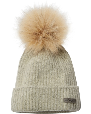 5b0c12952 Columbia Columbia Women's Winter Blur Pom Beanie, Size: One size, Chalk  from DICKS Sporting Goods | People