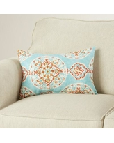 Bungalow Rose Debbagh Medallion Lumbar Pillow BNGL2796