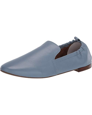 Aerosoles womens Rossie Loafer Flat, Mid Blue Leather, 12 US