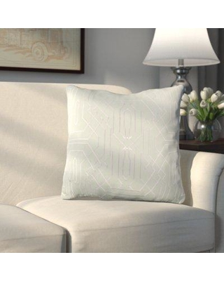Alcott Hill Meader Throw Pillow ALCT9039 Color: Green