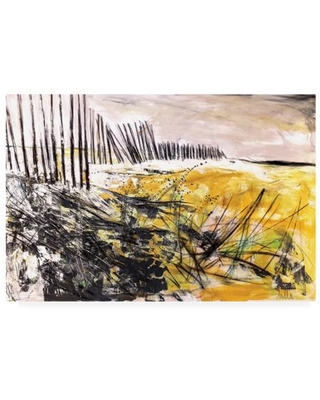Trademark Fine Art 'Outer Banks Sand Dunes' Canvas Art by Mila Apperl