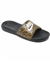 Nike Women's Victory One Print Slide Sandals from Finish Line - Chutney, White