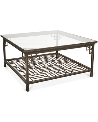 Larkspur Coffee Table - Burnished Gold