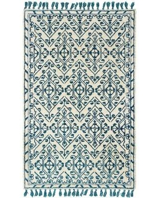 Check Out Some Sweet Savings On Bungalow Rose Nell Lattice Handmade Tufted Ivory Rug X111724100 Rug Size Runner 2 6 X 8