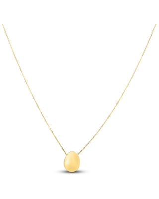 Jared Oval Pendant Necklace 14K Yellow Gold