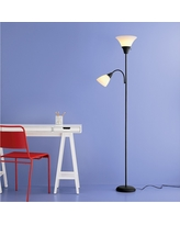 Torchiere Floor Lamp with Task Light (Includes Cfl Bulbs) - Room Essentials, Black