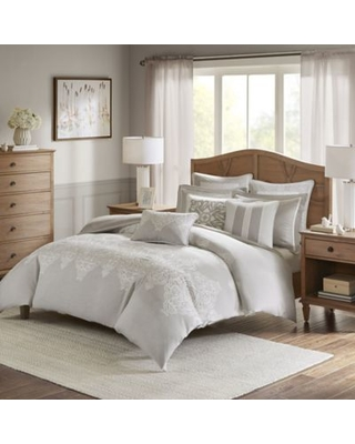 Madison Park Signature Barely There Queen Comforter Set in Natural