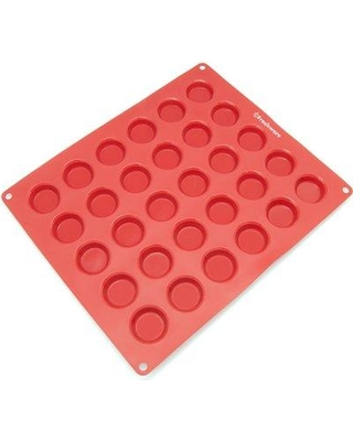 Freshware 30 Cavity Silicone Mold Pan CB-116RD