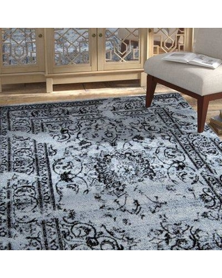 Bungalow Rose Raynolds Gray Area Rug BGRS3042 Rug Size: 8' x 10'