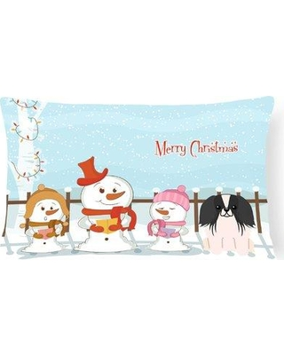 Check Out Deals On The Holiday Aisle Daniella Merry Christmas Indoor Outdoor Lumbar Pillow Polyester Polyfill Polyester Polyester Blend In Black White Size 12x18