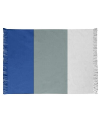 Dallas Football Blue/Gray Area Rug East Urban Home Backing: Yes