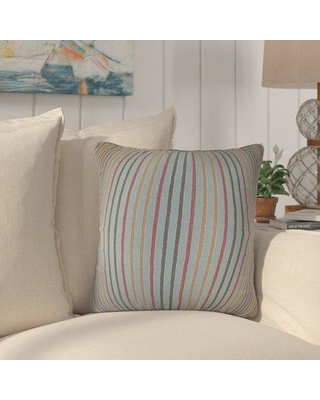 Rosecliff Heights Duncombe Stripes Cotton Throw Pillow SPIF8856