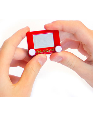 World's Smallest Etch A Sketch - Arts & Crafts for Ages 3 to 11 - Fat Brain Toys