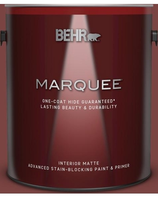 BEHR MARQUEE 1 gal. Home Decorators Collection #HDC-AC-03 Ancho Pepper Matte Interior Paint and Primer