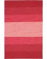 Chandra India Red/Pink/Peach 5 ft. x 8 ft. Indoor Area Rug