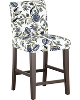 Parsons 25 Counter Stool - Blue Shaded Floral - Threshold