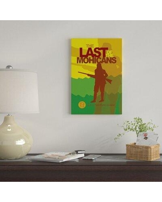 """East Urban Home 'The Last Of The Mohicans By Robert Wallman' By Creative Action Network Graphic Art Print on Wrapped Canvas FVNF4518 Size: 40"""" H x 26"""" W x 0.75"""" D"""